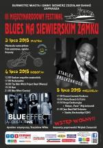 III MIĘDZYNARODOWY FESTIWAL BLUES NA SIEWIERSKIM ZAMKU