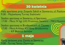MAJÓWKA W SIEWIERZU - 30 KWIETNIA
