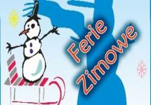 HARMONOGRAM FERII ZIMOWYCH 2017
