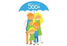 ROZPOCZĘCIE WYPŁATY 500 ZŁOTYCH NA DZIECKO W RAMACH RZĄDOWEGO PROGRAMU RODZINA 500 PLUS