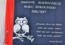 GMINNA INAUGURACJA ROKU SZKOLNEGO 2016/2017
