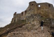 ROZPOCZĘTO BADANIA ARCHEOLOGICZNE W RAMACH NOWEJ INWESTYCJI NA ZAMKU SIEWIERSKIM