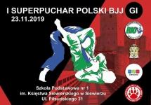 ZAPRASZAMY NA I SUPERPUCHAR POLSKI JIU-JITSU