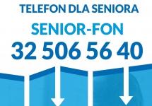 SENIOR-FON - SPECJALNA LINIA TELEFONICZNA DLA OSÓB STARSZYCH POD NUMEREM 32 506 56 40