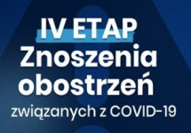 IV ETAP ZNOSZENIA OBOSTRZEŃ ZWIĄZANYCH Z COVID-19