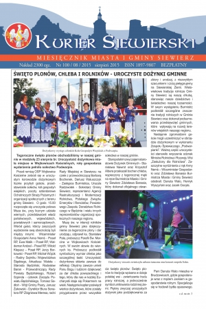 KURIER SIEWIERSKI NR 100/08/2015