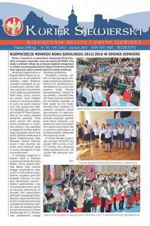 KURIER SIEWIERSKI NR 101/09/2015