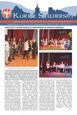 KURIER SIEWIERSKI NR 102/10/2015