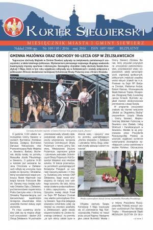 KURIER SIEWIERSKI NR 109/05/2016