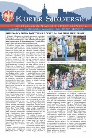 PRASA LOKALNA KURIER  SIEWIERSKI NR 110/06/2016