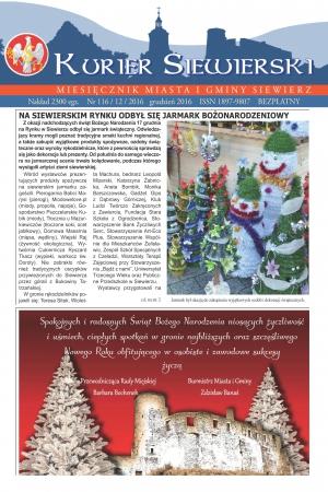 KURIER SIEWIERSKI NR 116/12/2016