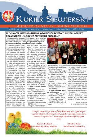 KURIER SIEWIERSKI NR 119/03/2017
