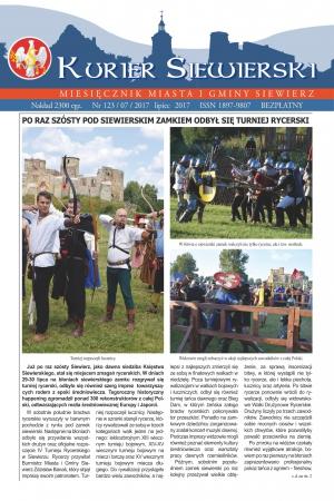 KURIER SIEWIERSKI NR 123/07/2017