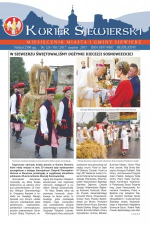 KURIER SIEWIERSKI NR 124/08/2017