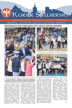 KURIER SIEWIERSKI NR 125/09/2017