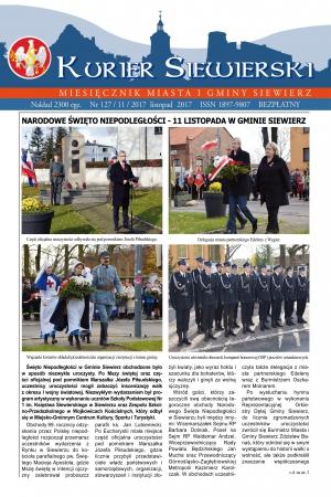 KURIER SIEWIERSKI NR 126/11/2017
