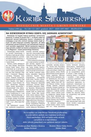 KURIER SIEWIERSKI NR 128/12/2017