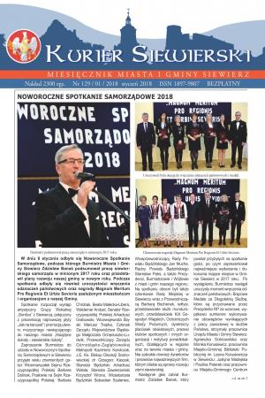 KURIER SIEWIERSKI NR 129/01/2018