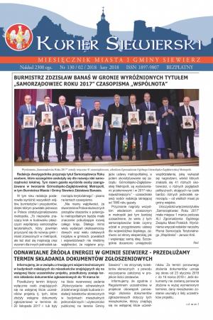 KURIER SIEWIERSKI NR 130/02/2018