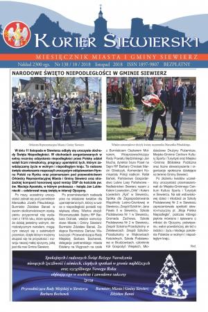 KURIER SIEWIERSKI NR 138/10/2018