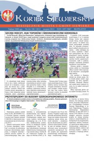 KURIER SIEWIERSKI NR 64/08/2012