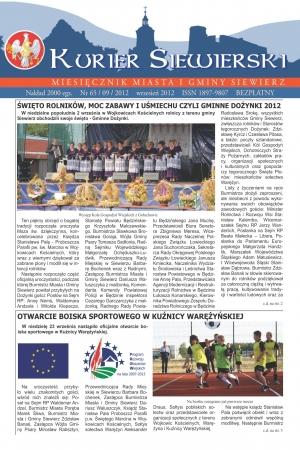 KURIER SIEWIERSKI NR 65/09/2012