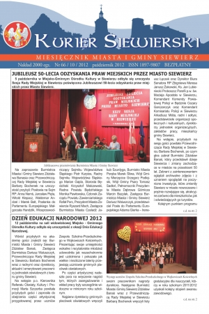 KURIER SIEWIERSKI NR 66/10/2012