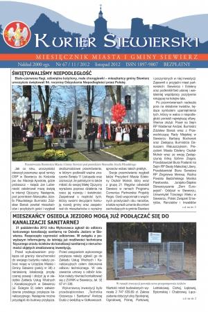 KURIER SIEWIERSKI NR 67/11/2012