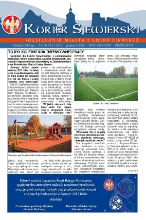 KURIER SIEWIERSKI NR 68/12/2012