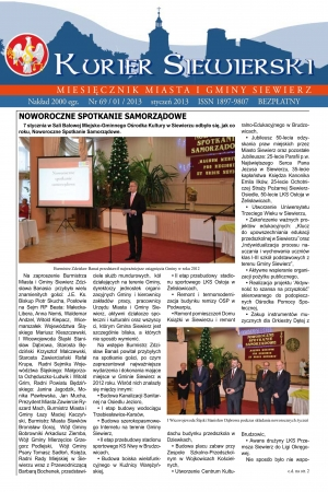 KURIER SIEWIERSKI NR 69/01/2013