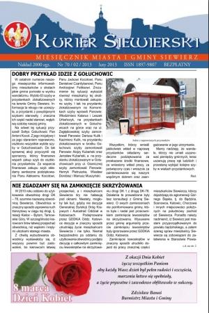 KURIER SIEWIERSKI NR 70/02/2013