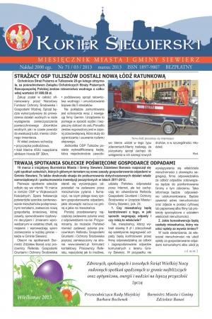 KURIER SIEWIERSKI NR 70/03/2013