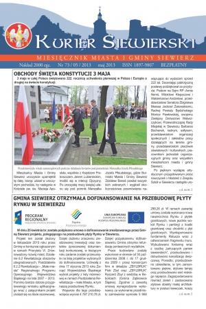 KURIER SIEWIERSKI NR 73/05/2013