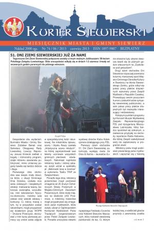 KURIER SIEWIERSKI NR 74/06/2013