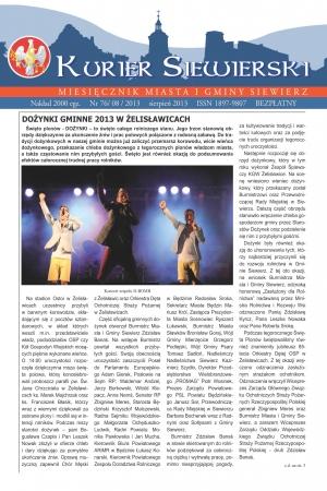 KURIER SIEWIERSKI NR 76/08/2013