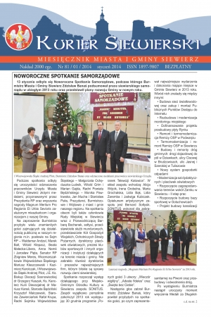 KURIER SIEWIERSKI NR 81/01/2014