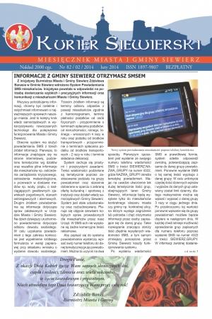 KURIER SIEWIERSKI NR 82/02/2014