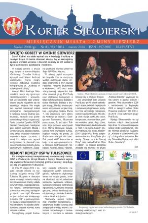 KURIER SIEWIERSKI NR 83/03/2014