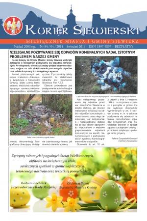 KURIER SIEWIERSKI NR 84/04/2014