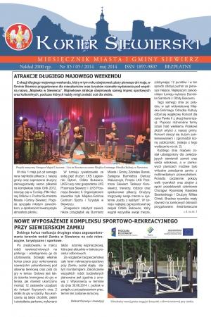 KURIER SIEWIERSKI NR 85/05/2014