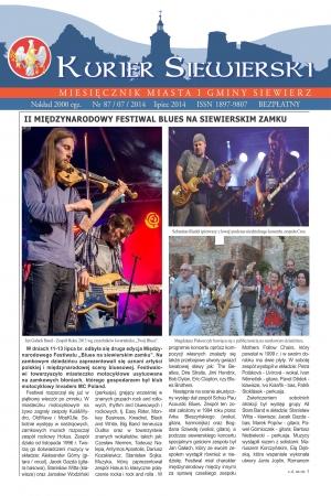KURIER SIEWIERSKI NR 87/07/2014