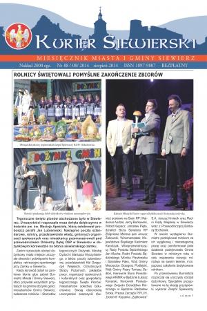 KURIER SIEWIERSKI NR 88/08/2014