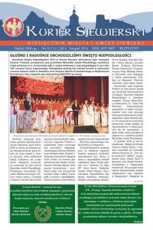 KURIER SIEWIERSKI NR 91/11/2014