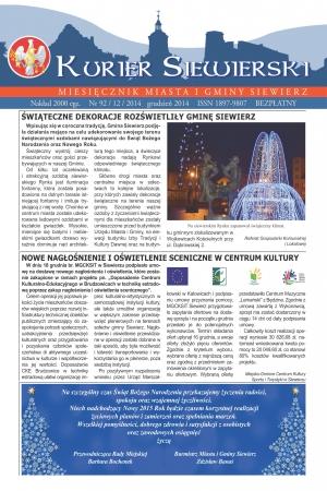 KURIER SIEWIERSKI NR 92/12/2014