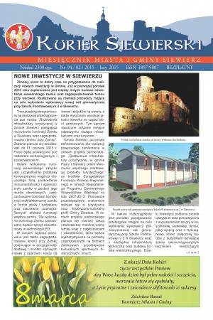KURIER SIEWIERSKI NR 94/02/2015