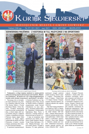 KURIER SIEWIERSKI NR 97/05/2015