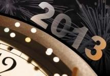 POWITANIE NOWEGO ROKU 2013 NA SIEWIERSKIM RYNKU