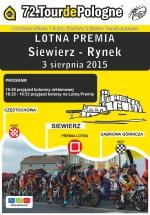 72. TOUR DE POLOGNE - PREMIA LOTNA W SIEWIERZU