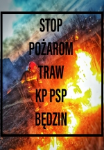 STOP POŻAROM TRAW